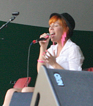 Esthero at the 2009 Calgary Folk Festival